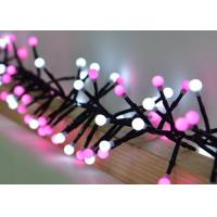 Buy cheap White / Pink Festival String Lights 3 Meters 400 Bulbs With 8 Different Modes product