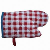 Buy cheap Insulated Oven Gloves, Safe, Portable, Made of Polyester product
