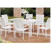 Buy cheap Outside Patio Furniture Sets Metal Patio Table And Chairs Set UV Resistance from wholesalers
