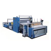 Buy cheap CE ISO Automatic Tissue Paper Making Machine Pneumatic adjustment Perforation unit product