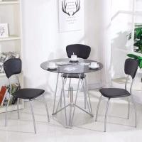 Buy cheap Round Glass Top Dining Room Table product