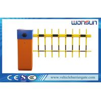 Buy cheap Two Fence Car Park Barrier Systems With Loop Detector For Entrance And Exit product