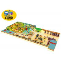 Buy cheap Kids soft play area game equipment amusement park indoor playground from wholesalers