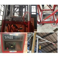 Buy cheap 5 Rack Modulus Material Lift Elevator , Material Hoisting Equipment With Reduction Ratio 1 / 18 from wholesalers