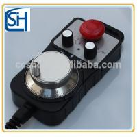 Buy cheap High Accuracy,Best Products,CNC manual pulse generator MPG with Estop Bottom product