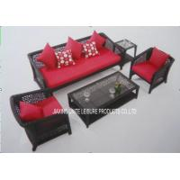 Buy cheap Backyard Patio Wicker Furniture Sets With Cushion For Conversation Seating from wholesalers
