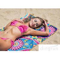 Buy cheap Quick Dry Soft and Light Weigh Suede Microfiber Beach Towel for Outdoor from wholesalers