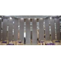 Buy cheap Classroom Sound Proof Partitions , Aluminium Frame Sliding Folding Wall Dividers from wholesalers