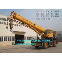 Buy cheap Longest Boom 45m XCMG RT50 50 Ton 4x4 All Wheel Drive Heavy Rough Terrain Tractor Crane For Europe product