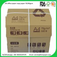 Buy cheap Sample free Original Paper Copy A4 A3 Paper 80 Gsm 75 Gsm 70 Gsm Copy Paper product