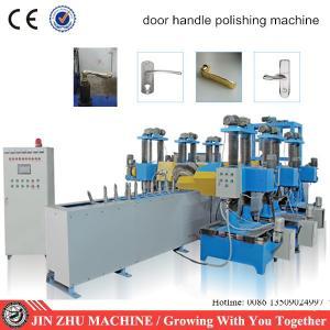 Buy cheap High production conveyor automatic door handle polishing machine product