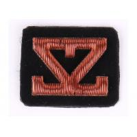 Custom Embroidered Name Patches Hand Embroidered Bullion Badges
