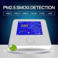 Buy cheap Know What's in the Air You Breathe - Air Quality Monitor Formaldehyde(HCHO) Monitor with PM2.5/PM10/TVOC Test USA product