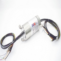 Buy cheap Power signal and hydraulic integrated slip ring with USB2.0 ,1000M Ethernet ,aluminium housing ,for food processing product