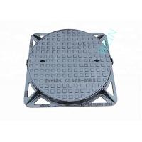 Buy cheap Round Double Sealed Internal Inspection Chamber Cover Ductile Iron EN124 product
