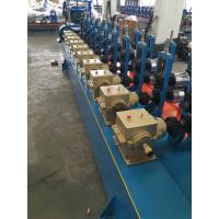 Buy cheap Blue color Low Carbon Steel Round / Square / Rectangular Tube Mill Line I.D Φ450-Φ550mm from wholesalers