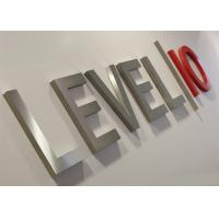 Buy cheap Stainless steel Advertising Sign Boards Logo Sign Metal Sign from wholesalers