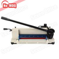 Buy cheap No MOQ new design a3 a4 desktop paper guillotine manual paper cutter book from wholesalers