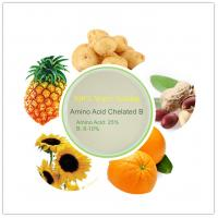 China DOWCROP HIGH QUALITY HOT SALE AMINO ACID CHELATED BORON LIGHT YELLOW 100% CONMPLETELY WATER SOLUBLE  ORGANIC FERTILIZER on sale