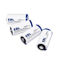 Buy cheap EBL 4 Pack Lithium CR123A 3V Batteries 1600mah , Battery Case Included Eco-friendly Battery product