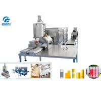 Customised Manual Lip Balm Filling Machine With Freezing Tunnel , SUS304 Material