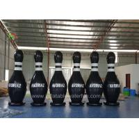 Buy cheap Customized Ourdoor Inflatable Sports Games , Airtight Human Bowling Ball product