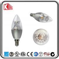 Buy cheap 360 Degree Dimmable Led Filament Candle Bulb 5W E14 Decorative for Chandelier product