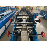 Buy cheap Steel C Channel Purlin Roll Forming Machine from wholesalers