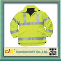 Buy cheap Roadway Winter Reflective Safety Coat for Personal Security Waterproof and Windproof product