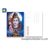 Buy cheap Customized 5D Effect 3D Lenticular Postcards 157g Coated Paper 5D Effect product