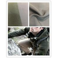 Buy cheap Breathable Super Stretch Fabric , 75D Four Way Stretch Fabric With Polar Fleece product