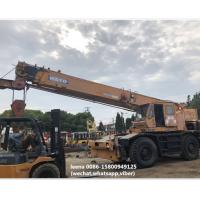 Buy cheap used 30ton kato rough terrian crane KR300 originally made in japan , just used for 5000 hrs , very good condition product