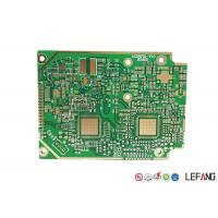 Buy cheap Solder Heavy Copper PCB , 4 Layers Copper Printed Circuit Board Green Solder from wholesalers