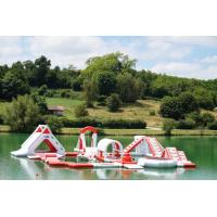 Buy cheap France Inflatable Commercial Water Park / Lake Inflatable Water Games Park product