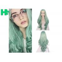 Buy cheap Fashion Multi Color Synthetic Cosplay Wigs , Long Curly Wave Hair Wigs from wholesalers