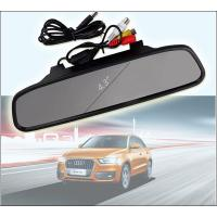 China Wireless 4.3 Inch Reverse Rear View Camera Car Night View Camera rearview mirror display back up assist on sale