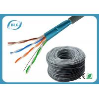 Buy cheap PVC Jacket Cat5e Lan Cable 1000ft Shielded 24AWG FTP Network Wire HDPE Insulation product