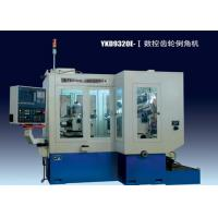 Buy cheap 12KVA Gear Chamfering Machine With Siemens 802d 4 Axis CNC System, Carbide Alloy Cutters product
