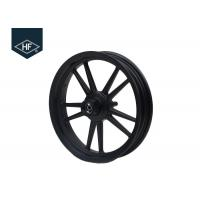 Buy cheap 14 Inch Motorcycle Wheel Parts Black Front Rear Scooter Aluminum Alloy Parts product
