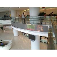 Buy cheap Tri Color Scrolling LED Message Sign High Brightness for Advertising 300w / m2 product