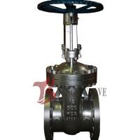 Buy cheap API Cast Steel Fully Open Gate Valve Metal Seat Z40H For Oil / Gas Industry product