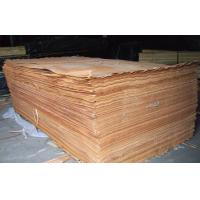 Buy cheap Yellow Rotary Cut Okoume Veneer For Chipboard , 0.2 mm - 0.6 mm Thickness product