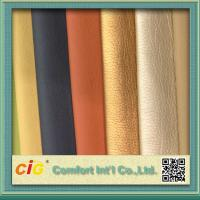 Buy cheap Shiny Surface Polyurethane Synthetic Leather For Sofa / Car Seat Cover 0.8-1.2mm Thickness product