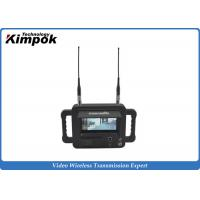 China Military Outdoor 2.4 Ghz Video Receiver / Handheld High Definition Wireless Digital Receiver on sale