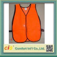 Buy cheap High Visibility Reflective Protective Clothing Reflective Safety Jackets , Custom Safety Vests product