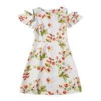 Buy cheap 89D18028 2018 Summer New Elegant Fashion Floral Dress product