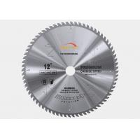 Buy cheap 250mm Diameter TCT Saw Blade Laminated Panels MDF Cutting TCG Teeth Shape product