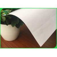 Buy cheap Two Side White Bond Paper Uncoated Woodfree Offset Printing Paper In 53gsm - 80gsm product