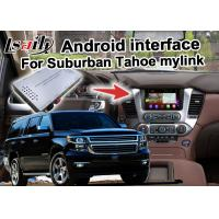 Buy cheap Android GPS navigation box interface for Chevrolet Suburban Tahoe with rearview WiFi video mirror link product