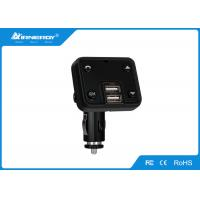 Buy cheap Wireless Car Charger Bluetooth Fm Transmitter Remote Control Black Color product